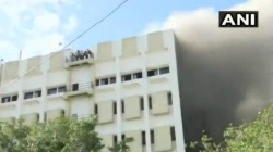 Mumbai Massive Fire Break Out In City 100 Feared Trapped