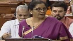 Budget 2019 Nirmala Sitharaman On Income Tax