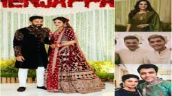 Nusrat Jahan S Wedding Reception Tollywood Stars Makes Presence