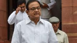 P Chidambaram Said Economic Survey 2019 Shows That It Is Pessimistic About The Economy