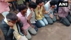 People Chained Made To Chant Gau Mata Ki Jai In Madhya Pradesh
