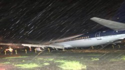 Main Runway At Mumbai Airport Remains Closed On Tuesday After A Flight Overshot Its Mark While Landi