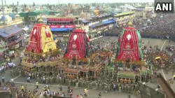 Festival Of Chariots The Annual Jagannath Rath Yatra Began