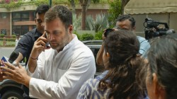 Rahul Gandhi Visited Uttar Pradesh S Amethi For The First Time After Lok Sabha Election