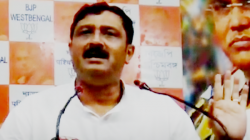 Bjp Leader Rahul Sinha Wanrs Within One Month Narad And Saradha Accused Will Be Behind Bars