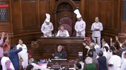Rajya Sabha Uproar Over The Karnataka Issue Adjourn For The Day