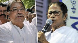 Pradesh Congress President Somen Mitra Stands For Primary Teachers
