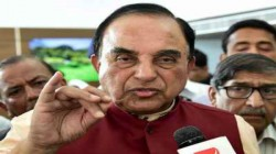 Fir Filed Against Bjp Mp Subramanian Swamy Due To Alleged False Statement Against Rahul Gandhi