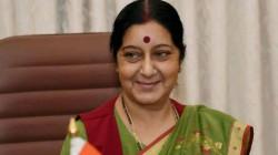 Sushma Swaraj Tweets India S Great Victory In Kulbhusan Jadav S Execution