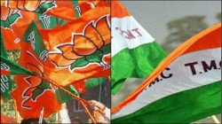Tmc Bjp Clash At Regent Park Under Ward No 97 In Kmc