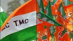 Bjp Protests Against Tmc Leader At Kanksa On Cut Money Issue