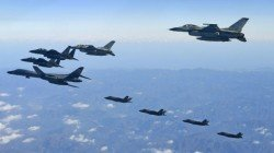 Four Countries Warplanes Come Face To Face Off South Korea And Japan Coasts