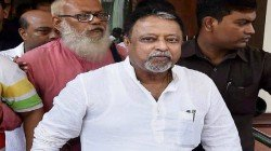 Bjp Leader Mukul Roy S Name Is Not In The Chargesheet Of Mla Satyajit Biswas Murder Case