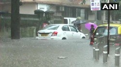 Heavy Rain Heats Mumbai Normal Life Disrupted