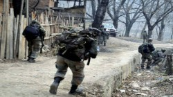 One Terrorist Killed In A Gunfight With Sevurity Forces In Narwani In Shopian