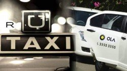 App Based Cabs Has Started Their Strike From Monday Morning In Kolkata