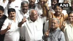 Kumaraswamy Govt Loses Karnataka Trust Vote Bjp Says Its Game Of Karma
