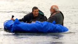 Modi Invites People To Watch His Man Vs Wild Program On Discovery Tonight