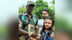 Raksha Bandhan Celebrates At Basirhat In Indo Bangladesh Border