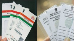 Ec Gives Letter To Law Ministry To Link Voters Id Cards With Aadhar