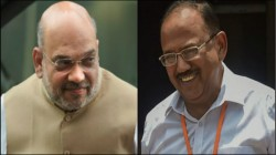 Amit Shah Is Meeting National Security Advisor Ajit Doval