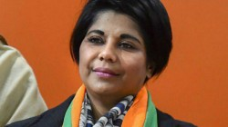 Ex Ips Bharati Ghosh Criticises Tmc From Hoogly Bjp S Programme