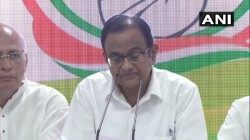 Senior Congress Leader P Chidambaram Appears In The Delhi Congress Office