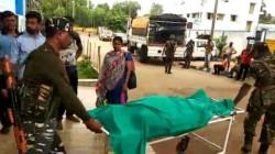 Crpf Jawan Suicide At Jhargram Camp