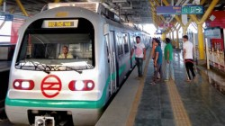 High Alert Has Been Sounded In The Delhi Metro In The Wake Of The Developments Related To Kashmir
