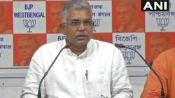 Bjp S Dilip Ghosh Criticises Gandhi Family As He Says They Are More Endangered