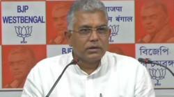 Dilip Ghosh Criticizes Mamata Banerjee As Liar Chief Minister