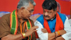 Bengal Bjp President Dilip Ghosh Booked In Midnapore