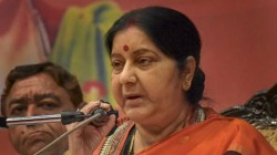 In Uzma Ahmed S Biopic Tabbu S Name Case For Sushma Swaraj S Character