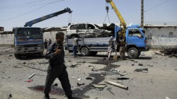 Several Kills In A Car Bomb Explosion In Afghan Capital Kabul