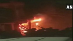 A Devastating Fire Occurred Death Of Six Persons Including Two Children In Delhi