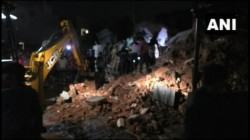 Dead After A 3 Storey Apartment Building In Gujarat S Pragatinagar Nadiad Collapsed