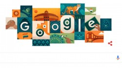 rd Independence Day Has Been Celebrated In India Google Wishes India With Doodle