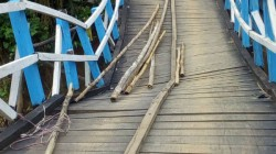 Bridge In West Midnapore Collapse Within 11 Months Of Inauguration