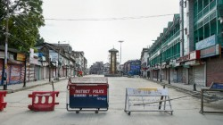 Restriction Imposed Internet Services Supended In Parts Of Kashmir