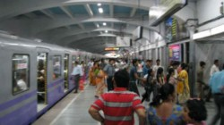 New Allegation Of Stuck At The Door Of The Kolkata Metro