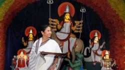 Mamata Banerjee Announces 25 Thousand Donation Now For Durga Puja Committee