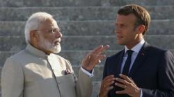 Resolve Kashmir Bilaterally Says French President Macron Asks India Pakistan