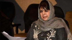 Pdp President Mehbooba Mufti Is Lashed Out At The Ogvt Over Anti Corruption Notice
