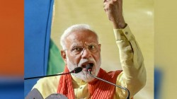 Their Heart Only Beats For Maoists And Terrorists Modi Says To Criticised Opposition