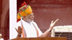 Rs 3 5l Crore Enmarked For Jal Jivan Mission Modi Says On Independence Day