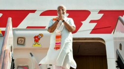 Prime Minister Narendra Modi Arrived In France To Attend The G7 Summit