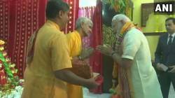 Pm Modi Launches Rs 30 Plus Crore Project Of Sri Krishna Temple In Baharin