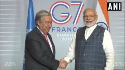 Pm Narendra Modi And Un Secretary General Antonio Guterres Held Fruitful Discussions