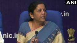 Centre Withdraws Enhanced Surcharge On Fpis Says Fm Nirmala Sitharaman