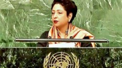 Pakistan S Permanent Representative At Un Maleeha Lodhi Was Heckled By A Countryman